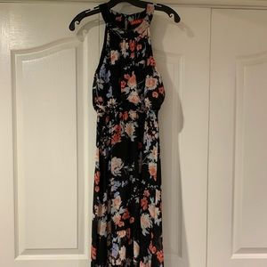 Versatile Floral high to low dress